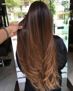 Brunette Meets Platinum-Blonde - 40 of the Best Bronde Hair Options - The Trending Hairstyle Brown Ombre Hair, Brown Hair Balayage, Brown Blonde Hair, Light Brown Hair, Hair Color Balayage, Brown Hair Colors, Long Brown Hair, Balayage Brunette Long, Long Brunette Hair