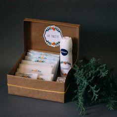 Embalagens para Kit Toilette - 1Up na sua festa