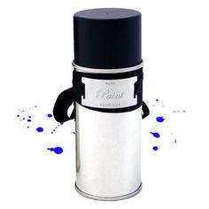 Wode Paint Perfume. A distinct and imaginatively conceived perfume, Wode is packaged in a spray paint can that goes on blue, just like the woad war paint used by the ancient British warrior queen, Boudicca. $140.00