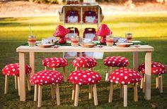 Festas personalizadas, no estilo Handmade e Vintage são um charme a mais e sucesso garantido!!