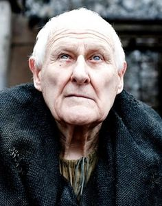 Peter Vaughan in Game of Thrones   is an English character actor, known for many supporting roles in a variety of British film and television productions. Wikipedia  Born: April 4, 1923 (age 90), Wem Spouse: Billie Whitelaw (m. 1952–1966)