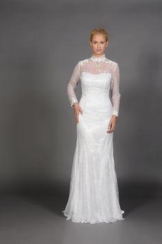 Vestido de novia de Eugenia Couture, colección 2014.