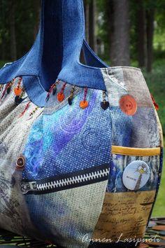 CosmoBag no-can-do Purse Tutorial, Totes, Purses, Handmade, Bags, Fashion, Handbags, Handbags, Moda
