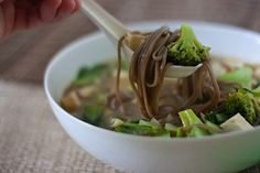 Whole Health Noodle Soup