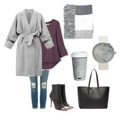 hiver by lilvanaa on Polyvore featuring polyvore mode style MANGO J Brand Christian Louboutin Yves Saint Laurent Topshop Fitz and Floyd fashion clothing