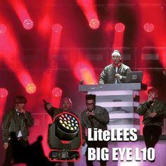 Big-EYE L10 trivia with BigBang's tour #brightnessblog #stagelights #lightingdesign #lightingdesigner #lightingdirector #showofthelight #clubedosiluminadores #churchproduction