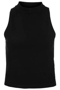 Skinny Polo Crop - Tops  - Clothing
