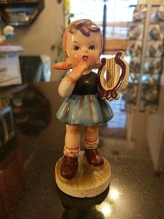 1930s Signed Meisen Ceramic Figurine