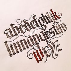 Miniscules  On to the capitals now. I will need a lott more practice but gothic is  definitely easier than copperplate. by http://ift.tt/1PhMQYv
