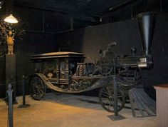 The steam hearse at House on the Rock