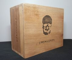 #Cromagnon #CigarBox #SkullStashBox #GothicStorage  #ShadowBox #HalloweenDecor #CigarBoxCrafts #CigarBoxAmp #CigarBoxSpeaker #CigarBoxLamp #CigarBoxClock #Storage #eBayListing #ShopMoMoMax.01