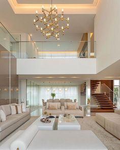Living Room Color Combination Best Woodworking 2020 : Home Design Home Stairs Design, Home Room Design, Dream Home Design, Modern House Design, Home Interior Design, Interior Decorating, Mansion Interior, Dream House Interior, Luxury Homes Dream Houses