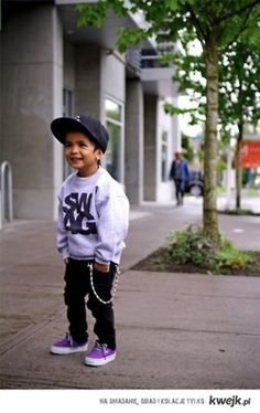 I can see this as Colby and Jade's little boy! LOL...for some reason I think I started him out as a fashion freak, before he was ONE his first NIKE'S were white with a baby blue check on the side! I might have them saved. I save everything! :)