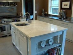 white concrete counter tops | Cheng Concrete Buddy Rhodes by Patricia