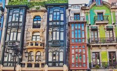 """""""New blog post up - from Oviedo with love. 10 reasons this city in Asturias, Spain captured my heart. Spoiler alert - cute balconies and tasty food had a…"""""""