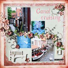 Canal cruising in Bruges - Scrapbook.com