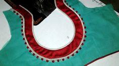 Patch Work Blouse Designs, Simple Blouse Designs, Blouse Back Neck Designs, Fancy Blouse Designs, Saree Blouse Designs, Blouse Patterns, Sari Blouse, Churidar Neck Designs, Kurta Designs