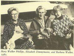 Mary Walker, Elizabet Zimmermann, Barbara Walker by spiden001, via Flickr