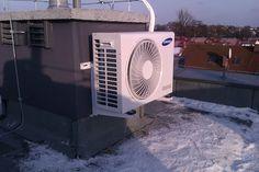 Jednostka zewnętrzna klimatyzatora Samsung do biura