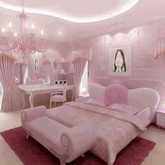 Pink is the perfect colour for girl's bedroom! Discover more pink inspirations with Circu furniture for kids' bedroom: CIRCU. Pink Bedroom Decor, Pink Bedrooms, Glitter Bedroom, Woman Bedroom, Girls Bedroom, Dream Rooms, Dream Bedroom, Rose Bedroom, Girl Bedroom Designs