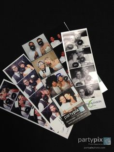 Photo Strips unique touch to a wedding. Even Send out Save-the-Dates using PartyPix Photobooths. Save The Date, Dates, Polaroid Film, Events, Entertaining, Touch, Weddings, Unique, Party