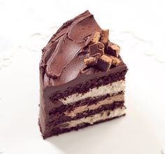 whaaat? This is all my favourite things in one. Chocolate peanut butter mousse cake.