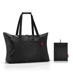 reisenthel Reisetasche »mini maxi travelbag« für 17,95€. Der perfekte Reisebegleiter, 1 Stecktasche außen, Tragehenkel lassen sich per Klettgriff koppeln bei OTTO