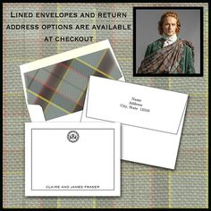Outlander Inspired Thistle Note Cards / by WrappedToPerfection
