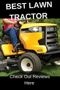 Best lawn tractor for your money. Do you need a lawn tractor or a zero turn mower? check them out here Lawn Mower Maintenance, Lawn Mower Repair, Best Lawn Tractor, Best Lawn Mower, Zero Turn Mowers, Riding Lawn Mowers, Tractors, Outdoor Power Equipment, Money