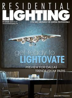 "Our December issue, found online at http://editiondigital.net/publication/?i=283936&ver=html5#{""issue_id"":283936,""page"":0}, features a preview of the January Dallas Lightovation show, trends from Maison & Objet in Paris, geometric fixtures  and an interview with Emporium Home's Ashley Childers."