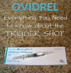 All the information you need to know about the Ovidrel trigger shot - one of the most popular ovulation induction injections