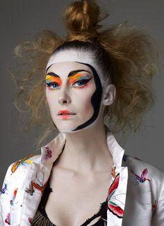 Fashion Face Pack by Kansai Yamamoto is an amazingly original face ...