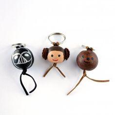 Star Wars Style Key Rings