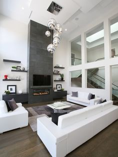 1000 ideas about fireplace living rooms on pinterest corner gas fireplace fireplaces and - Contemporary living room decorating ideas to put your heart and soul in it ...