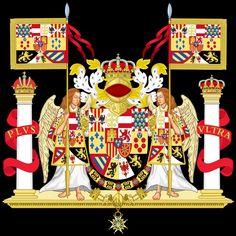 REFORMA DE 1931.La versión ornamentada de este año, deja de aparecer con el manto real y el lema«A solis ortu usque ad occasum», desde el amanecer hasta la puesta del sol, debido a la pérdida de los últimos territorios enAméricayAsiaen1898.