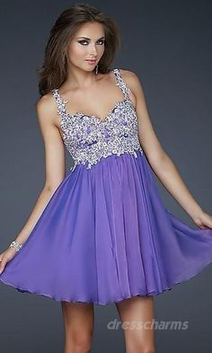 This would be pretty in either light blue or a midnight blue