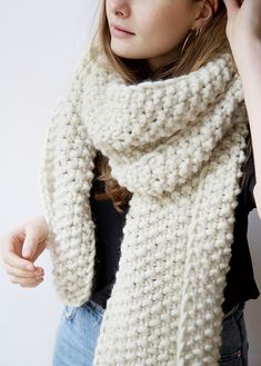 Ravelry: Don't Stop Scarf pattern by Wool and the Gang