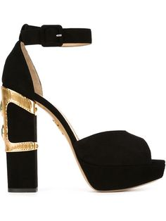 Love these shoes by CHARLOTTE OLYMPIA Gem Sandals - $1179