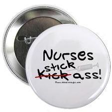 Nurses stick pin