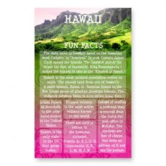 hawaii state facts - Google Search