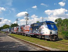 RailPictures.Net Photo: AMTK 157 Amtrak GE P42DC at Dearborn, Michigan by Steven Mckay