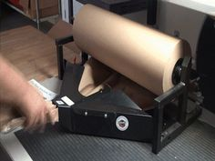 Paper Cruncher is a void fill method that uses paper instead of packing peanuts or air pillows Ecommerce Software, Kraft Paper, Shop Ideas, Fill, Packing, Brown Paper, Bag Packaging