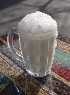Ayran is a cold drink of yogurt mixed with water and salt. An acquired taste but addictive once you've acquired it.