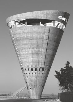 Grand Central Water Tower in Midrand, South Africa