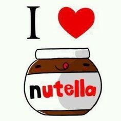 NOSE NUTELLA TE AMOO