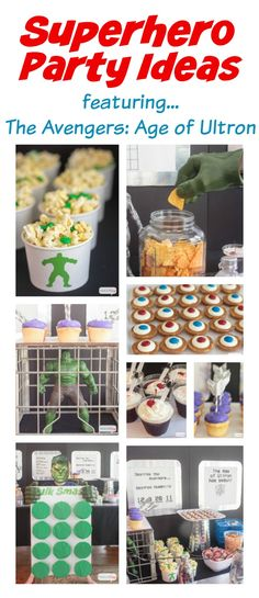 Superhero Party Ideas: The Avengers Age of Ultron
