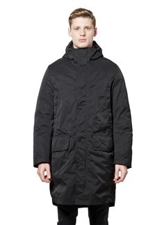Acne Studios - Fall Winter 2014 - Menswear // Black Montreal Parka