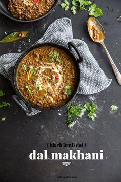 Vegan Dal Makhani (Black Lentil Dal) - Cook Republic #vegan #vegetarian