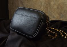 Leather Cross Body Bag. Small leather bag. Zipper bag. PDF Pattern.