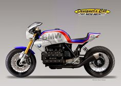 "DESIGNER'S CUT Cafè Racer Projects: BMW K 100 ""DICKE BERTHA"""